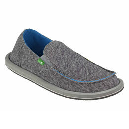 Sanuk Men's Vagabond Mesh Sidewalk Surfer Casual Shoes