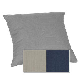 Casual Cushion Corp. 15x15 Throw Pillow - Dove w/ Indigo