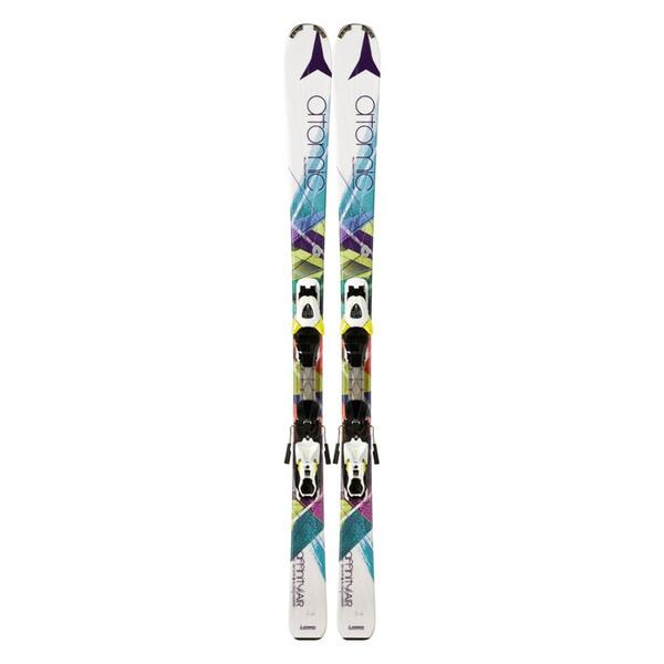 Atomic Women's Affinity Air All Mountain Skis with XTE 10 Bindings '14