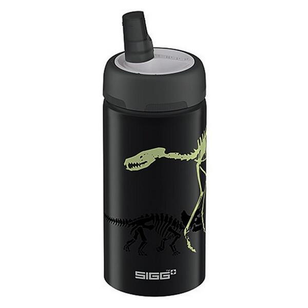 Sigg Active Top Dino Glow .4l Water Bottle