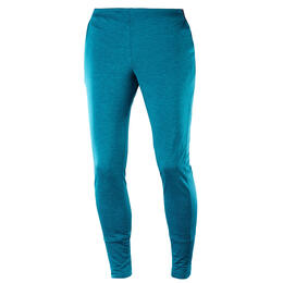 Salomon Women's Discovery Cozy Pants, Deep Lagoon