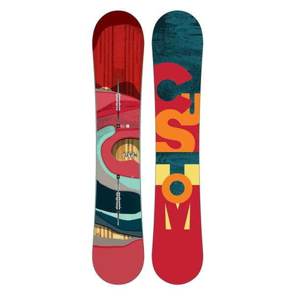 Burton Men's Custom Flying V Wide Snowboard '16
