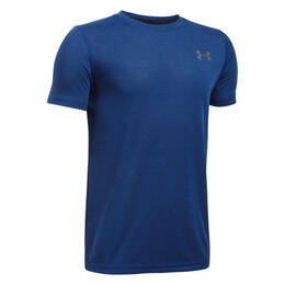 Under Armour Boy's Threadborne Short Sleeve Shirt