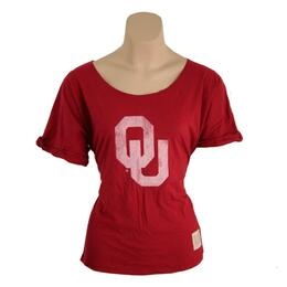 Original Retro Brand Women's Ou Relaxed Dolman Tee Shirt