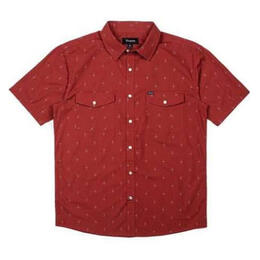 Brixton Men's Wayne Short Sleeve Woven Shirt