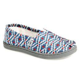 Toms Youth Diamond Woven Classic Casual Shoes
