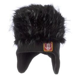 Obermeyer Boy's Fur Top Hat