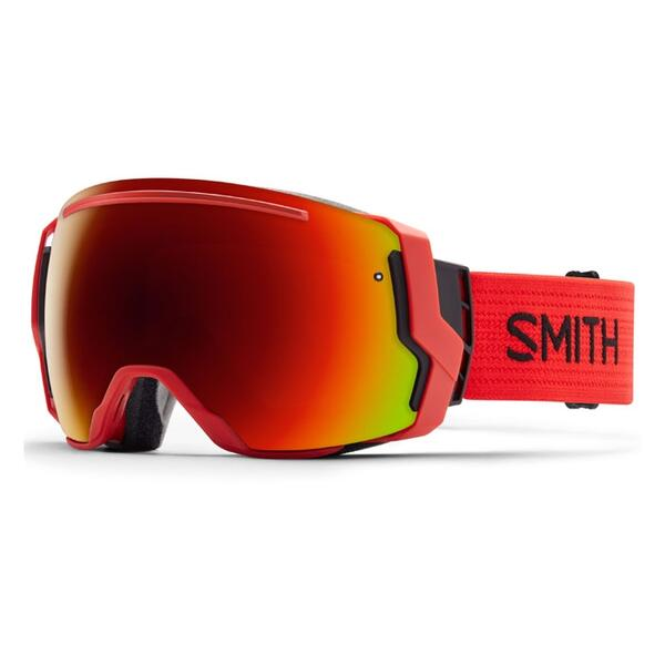 Smith I/O 7 Snow Goggles With Red Sol X/Blue Sensor Lenses