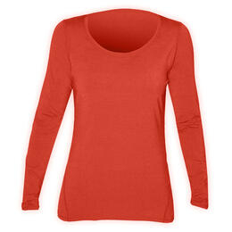 Hot Chillys Women's MTF4000 Solid Baselayer Scoopneck Top