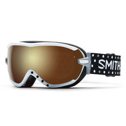Smith Women's Virtue Snow Goggles With Gold Sol-X Mirror Lens