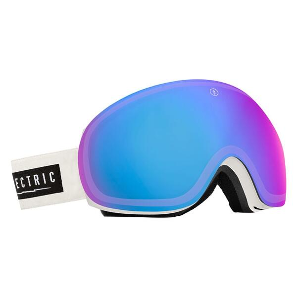 Electric EG3 Snow Goggles with Rose/Blue Chrome Lens
