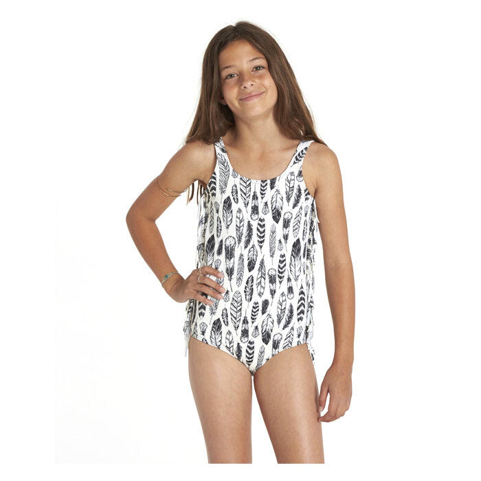 Billabong Girl's Fly Away One Piece Swimsuit Front View