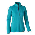 Patagonia Women's Capilene Midweight Baselayer Zip Neck Top Blue