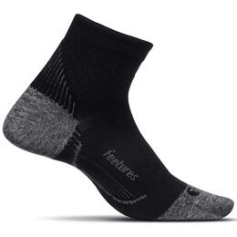 Feetures PF Relief Ultra Light Cushion Quarter Running Socks