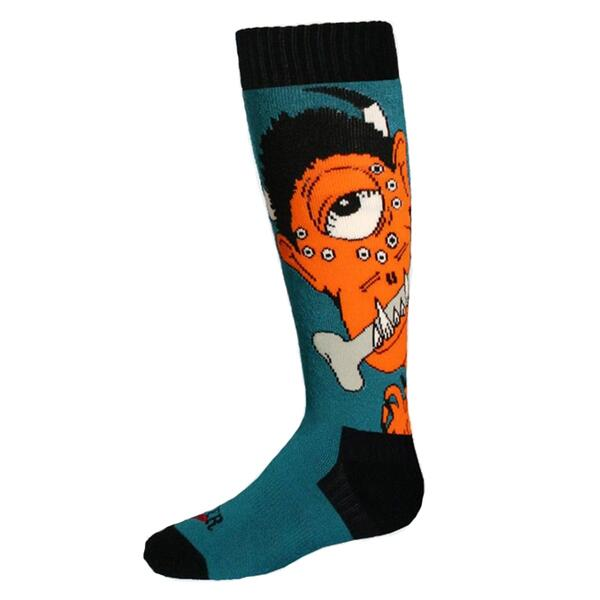 Hot Chillys Youth Monster Mid Length Sock