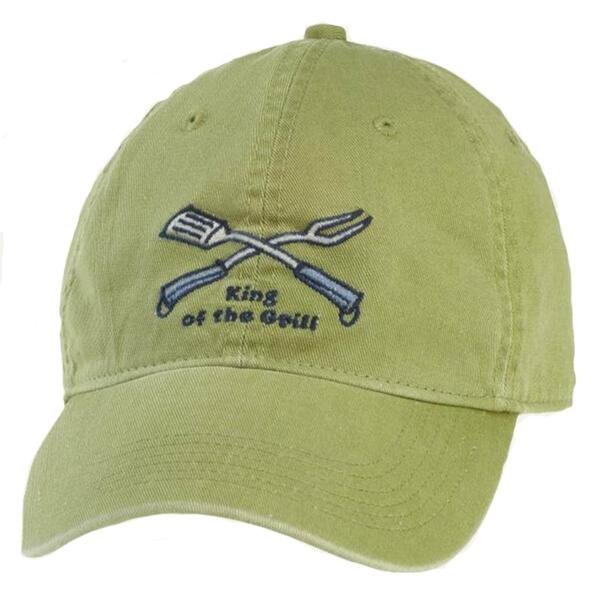 Life Is Good Men's King Of Grill Chill Cap