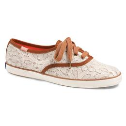 Keds Women's Champion Woven Lace Casual Shoes