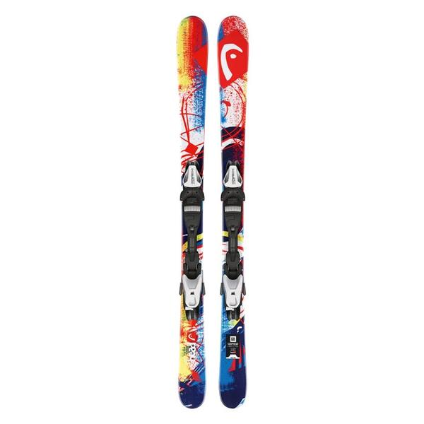 Head Youth Souphead All Mountain Skis with 4.5 Bindings '14