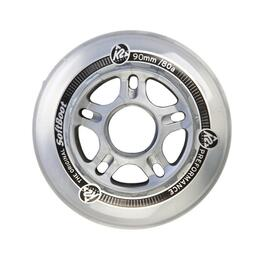 K2 90mm-85a Inline Skate Wheels With Bearings And Spacers (8 Pack)
