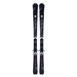 Volkl Women's Flair 73 All-Mountain Skis with vMotion1 Bindings '18