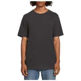 Volcom Men's Solid Stone Emb Short Sleeve Tee Shirt