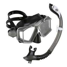 U.S. Divers Sideview II LX Snorkel Set With Camera Mount