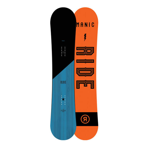Ride Men's Manic Wide All Mountain Snowboar