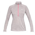 Under Armour Women's UA Tech™ Twist Half Zip Top alt image view 3
