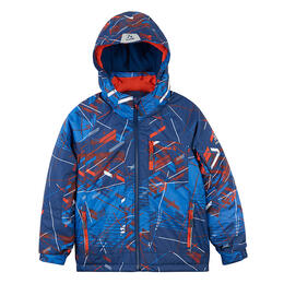 Kamik Boy's Rusty Fly Trap Print Insulated Jacket