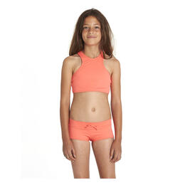 Billabong Girl's Sol Searcher High Neck Swimsuit Set