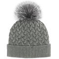 Mitchies Matchings Women's Knit Hat With Fo