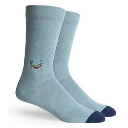 Richer Poorer Men's Banana Crew Socks