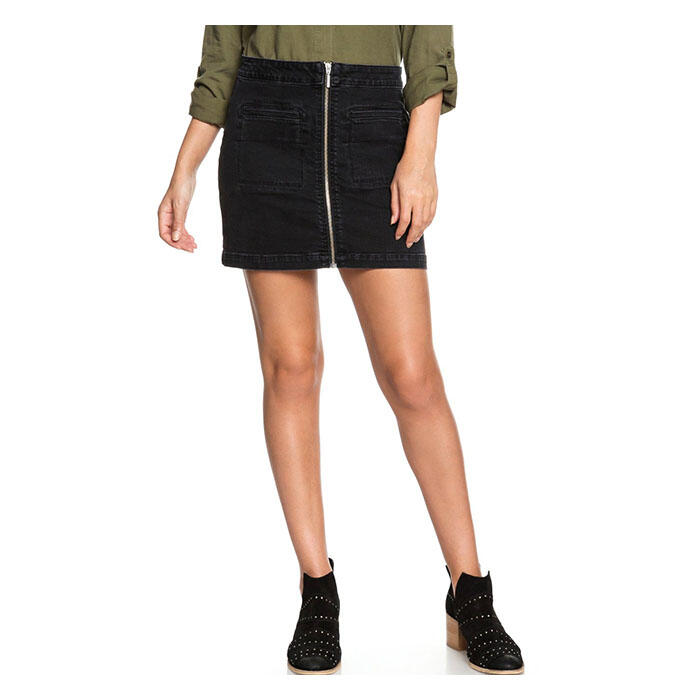 Roxy Women's Street Direction Denim Skirt