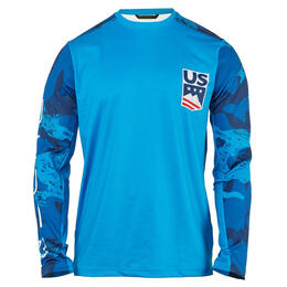 Spyder Men's USST Pump Long Sleeve Top