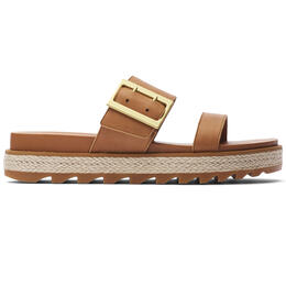 Sorel Women's Roaming Buckle Slide Jute Sandals