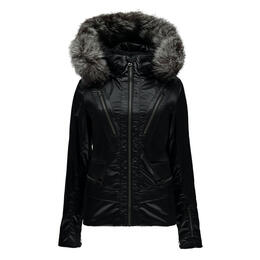 Spyder Women's Posh Real Fur Insulated Ski Jacket