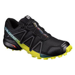 Salomon Men's Speedcross 4 Trail Running Shoes Black/Everglade