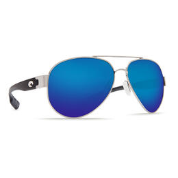 Costa Del Mar Southpoint Polarized Sunglasses with Blue Mirror Lens