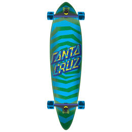 Santa Cruz Illusion Dot Pintail Longboard