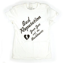 Original Retro Brand Women's Bad Reputation Short Sleeve T Shirt