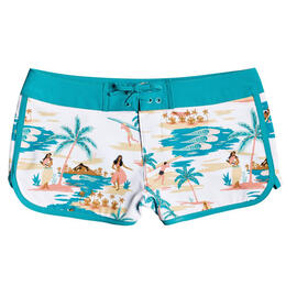 Roxy Girl's Love Waimea Boardshorts