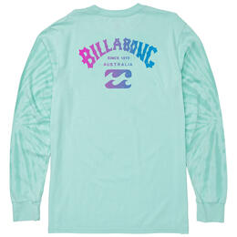 Billabong Men's Arch Tie-dye Long Sleeve T-Shirt