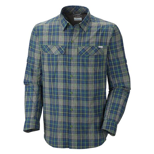 Columbia Sportswear Men's Silver Ridge Plaid Long Sleeve Shirt