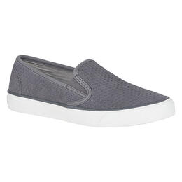 Sperry Women's Seaside Scale Emboss Grey Casual Shoes