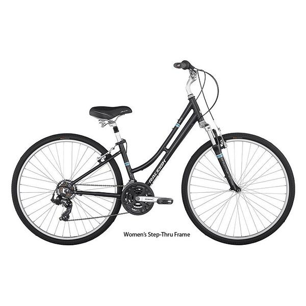 Raleigh Route 3.0 Hybrid Bike '13