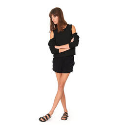 n:Philanthropy Women's Maia Open Shoulder Sweatshirt