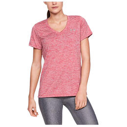 Under Armour Women's Tech Twist V-Neck Short Sleeve Shirt