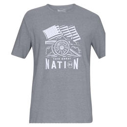 Under Armour Men's Freedom Cannon Short Sleeve T-shirt