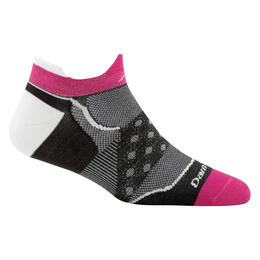 Darn Tough Vermont Women's Dot No-Show Cycling Socks