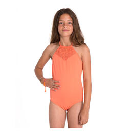 Billabong Girl's Just Beachy One Piece Swimsuit